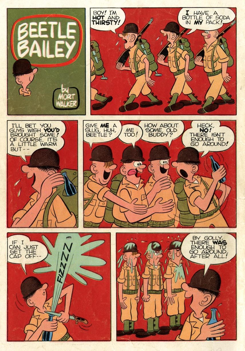 Beetle comic page