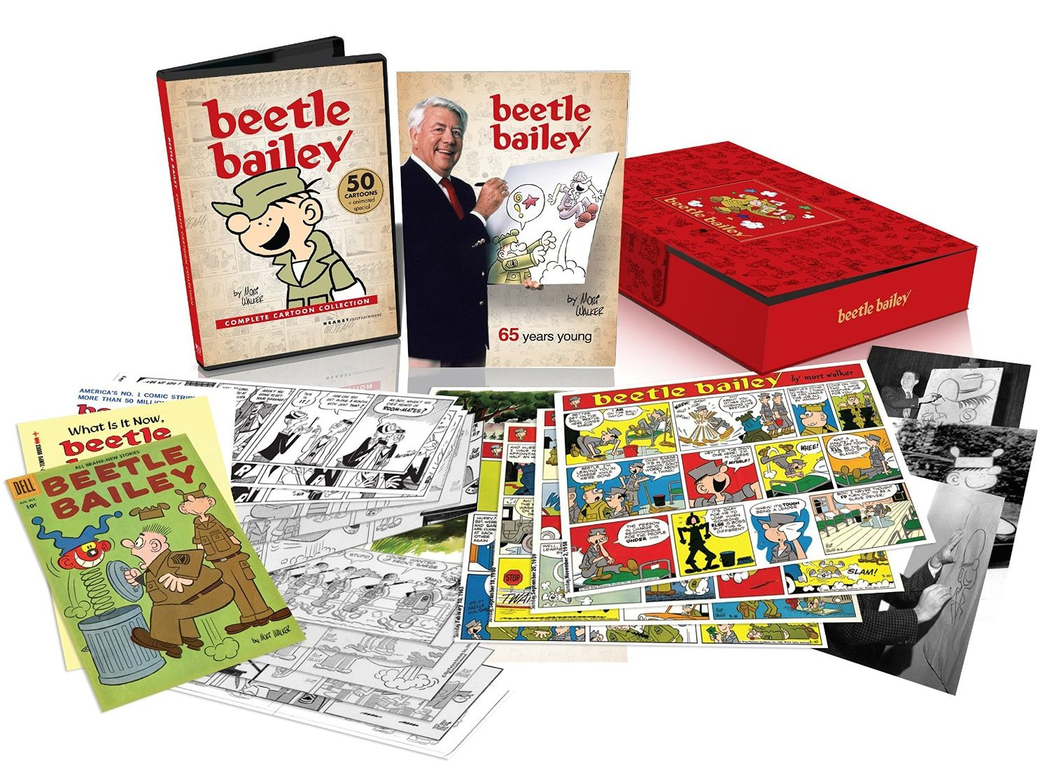 Beetle Bailey: 65th Anniversary Collectors' Edition, 2015.