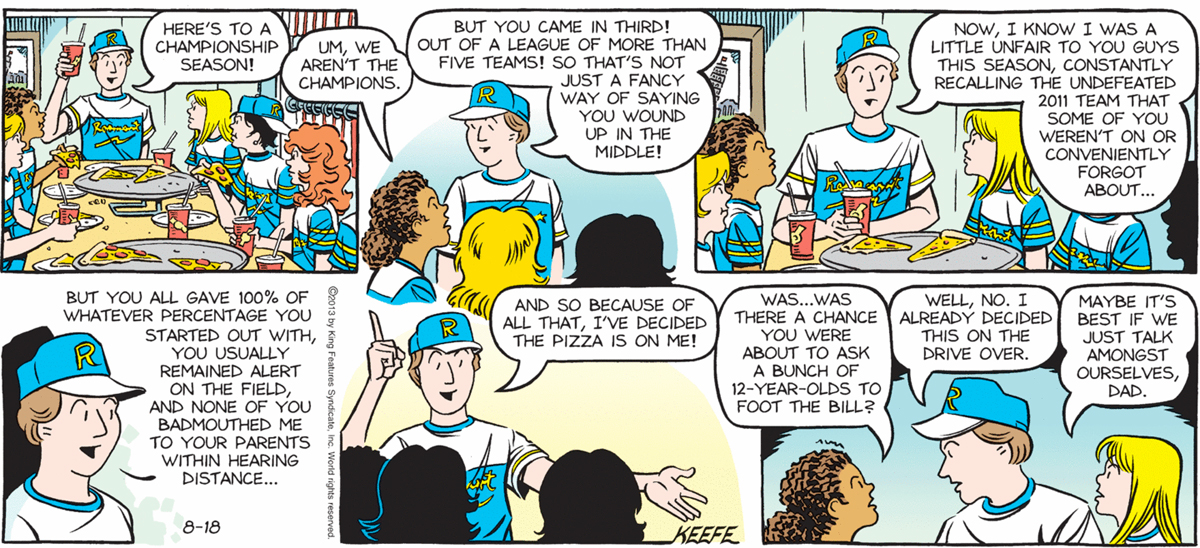 Sally Forth – August 18 2013