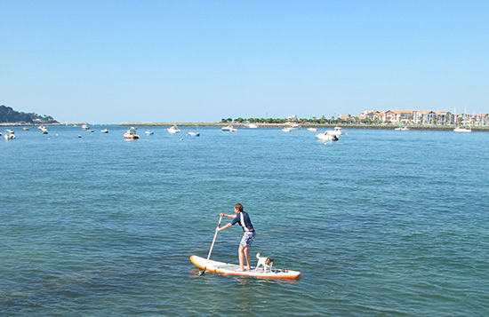 SUP-Hondarribia-Estuary