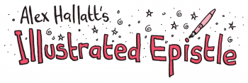 Sign up for Alex Hallatt's Illustrated Epistle