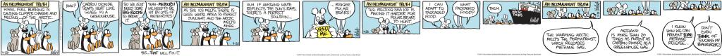 An Inconvenient Sequel: Truth To Power cartoon 4