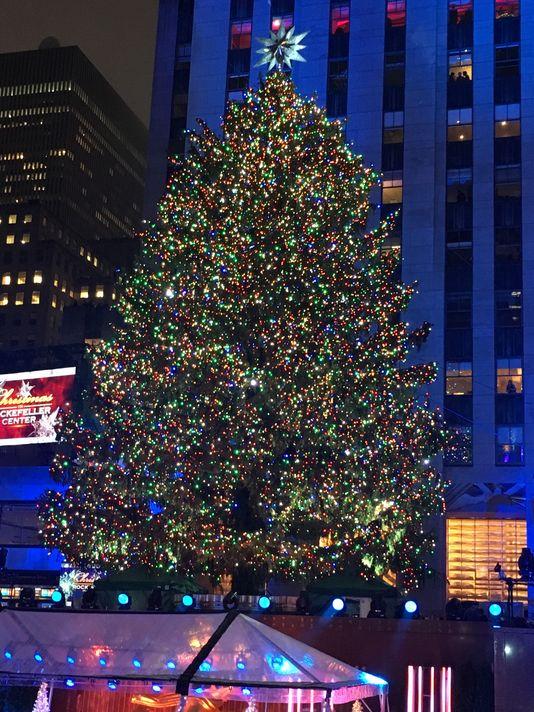 The Rockefeller Center Christmas Tree, 2015.