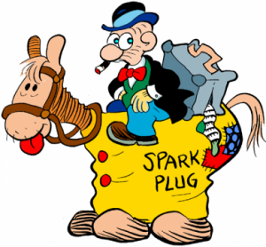 It's always fun when Barney Google and Spark Plug return to the comic strip for a visit!