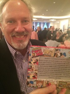 We King Features cartoonists were surprised with bee-yo-ti-ful frames featuring of comic strip!