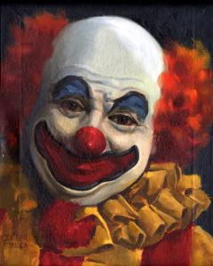 joe-giella's-clown-painting