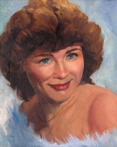 joe-giella's-painting-wife