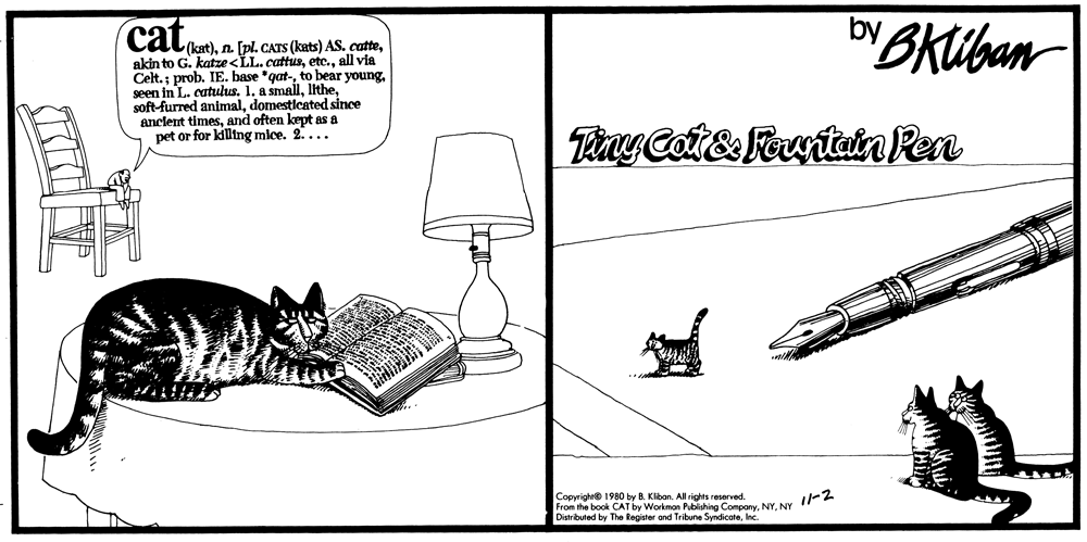 CAT November 2, 1980
