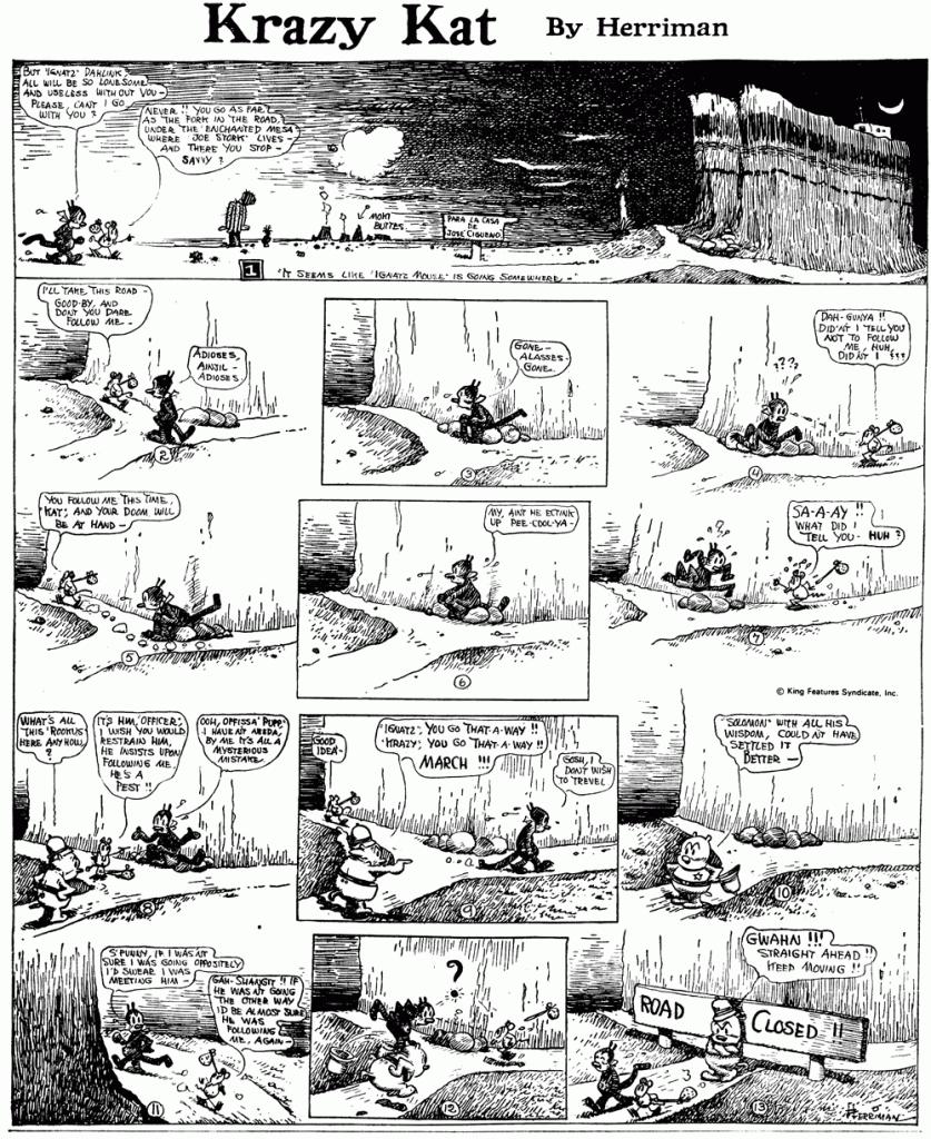 KRAZY KAT April 30, 1916