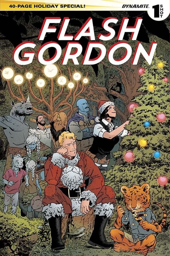 Flash Gordon Holiday Special from Dynamite Entertainment