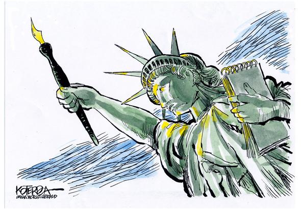 Editorial cartoonist Jeff Koterba