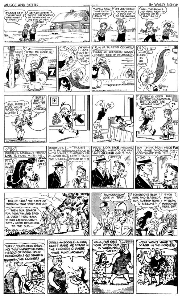VE DAY Vintage Comics: