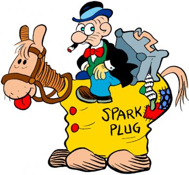 Barney Google and Snuffy Smith comics
