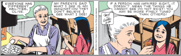 Mary Worth, July 26, 2014
