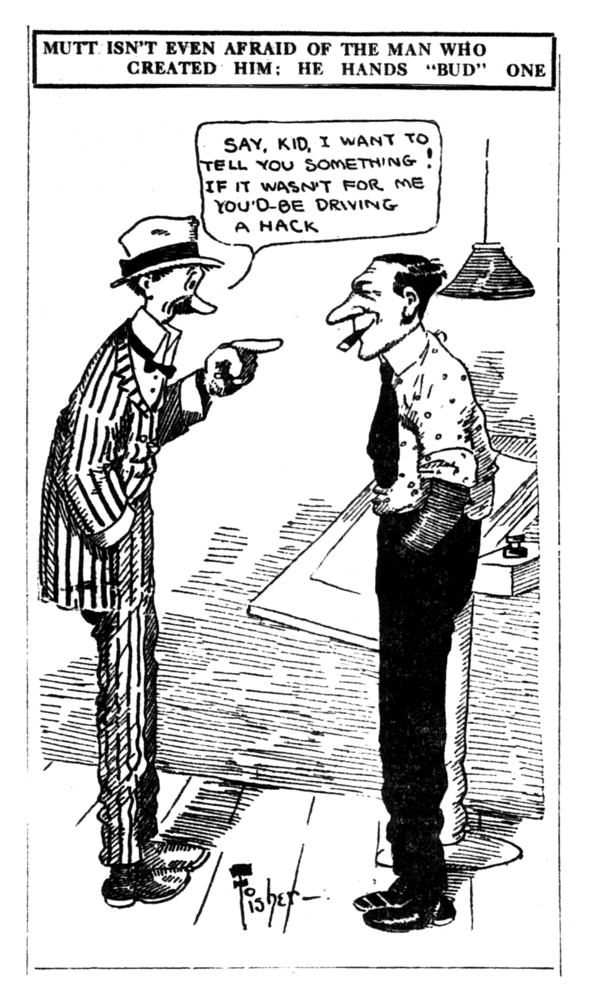 Mutt & Jeff: A 1912 confrontation