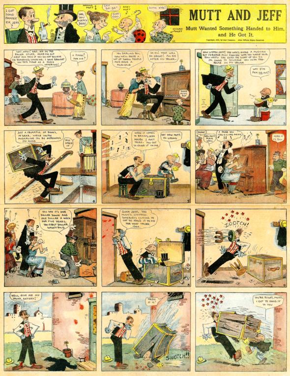 Mutt & Jeff: 8 August 1915