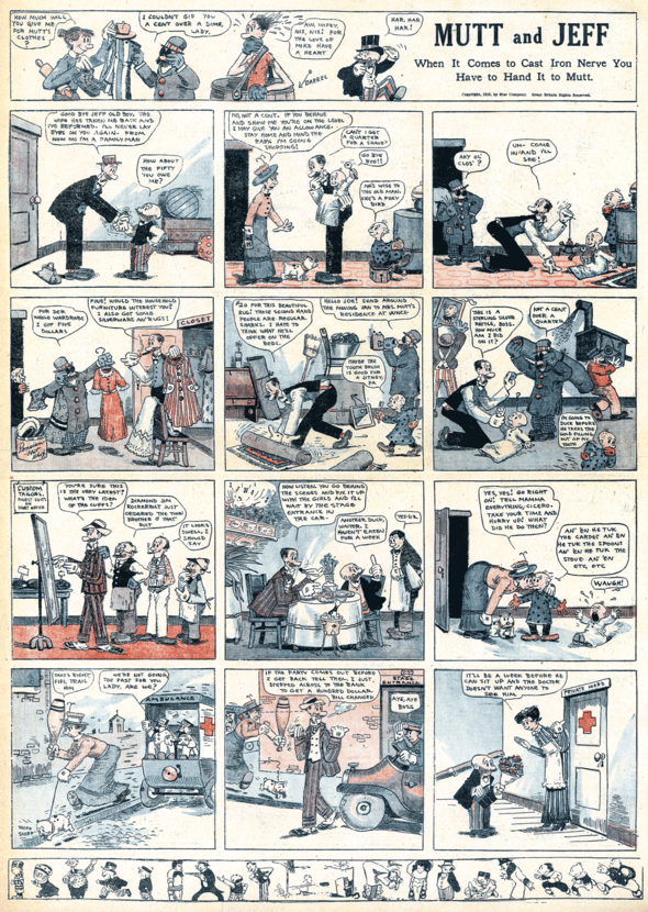 Mutt & Jeff: 15 August 1915