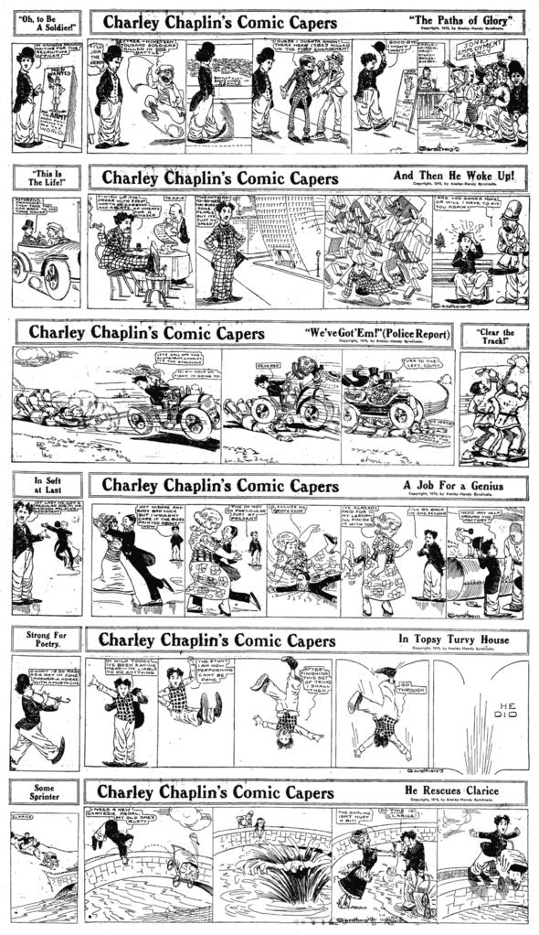 Stewart Carothers strips