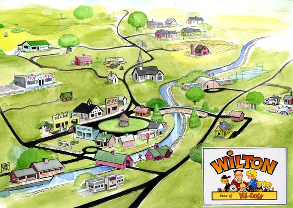 Hi & Lois's hometown