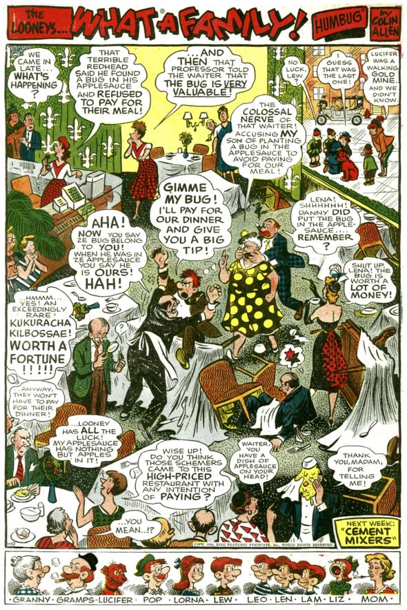 The Looneys, January 10, 1954