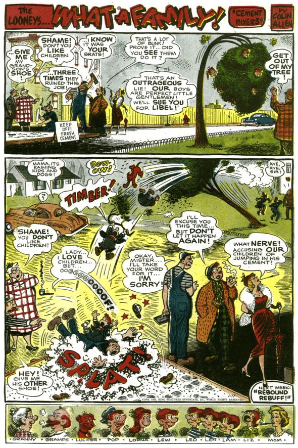 The Looneys, January 17, 1954