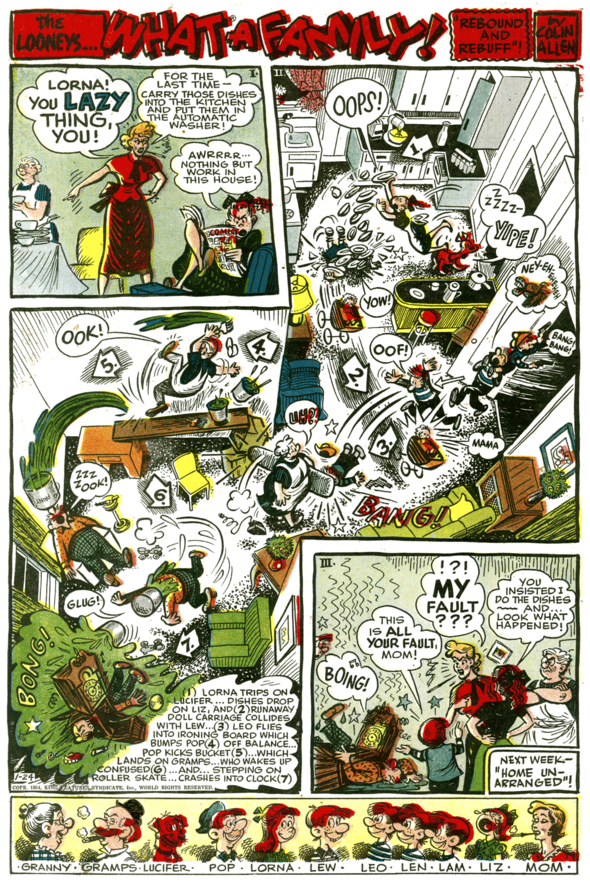 The Looneys, January 24, 1954