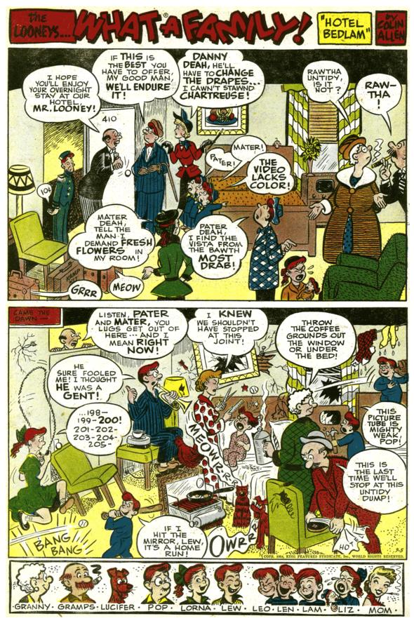 The Looneys, September 5, 1954