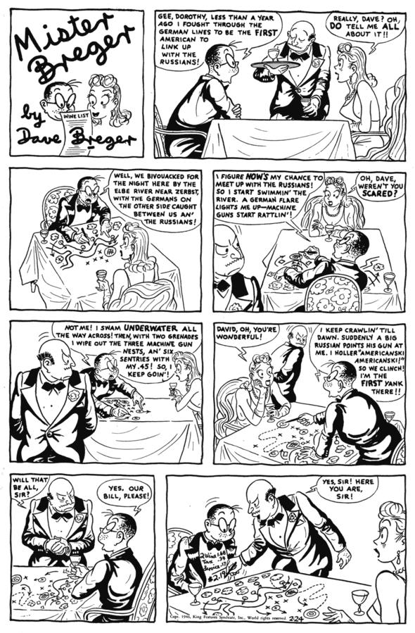1946 Mister Breger: 24 February.