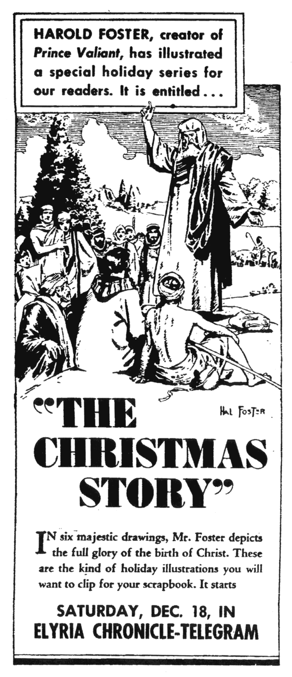Promo for the 1948 Christmas Story special.