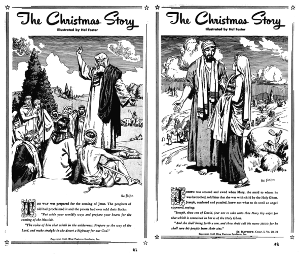 The Christmas Story, pp 1-2