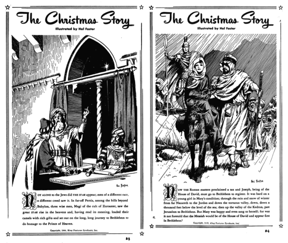 The Christmas Story, pp 3-4