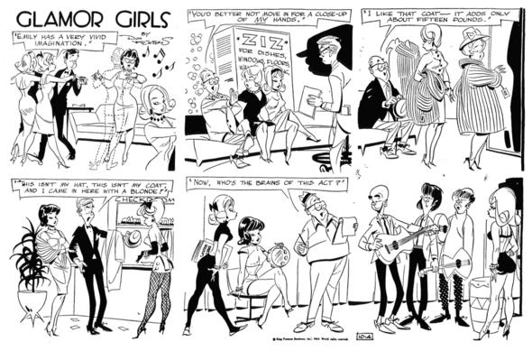 Glamor Girls Sunday 1964