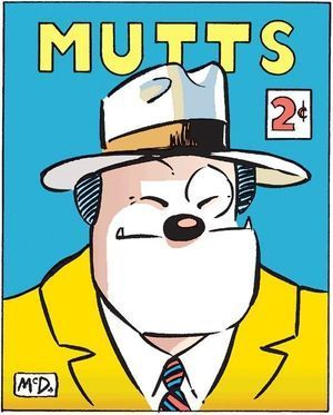 A Mutts homage to Dick Tracy