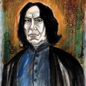 Alan Rickman by David Reddick