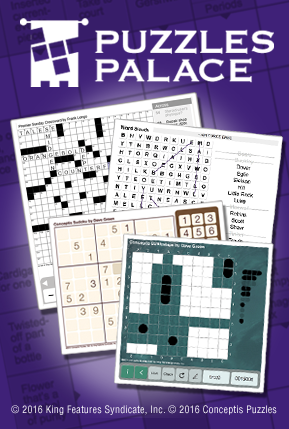 Exercise your mind at Puzzle Palace!