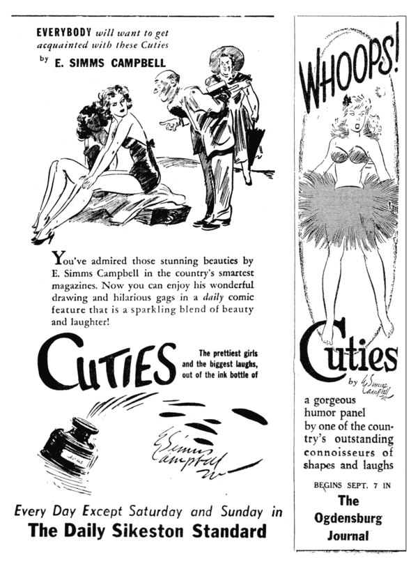 1940s promos for Cuties
