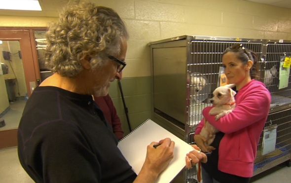 Patrick McDonnell visits Animal Care Centers of NYC!