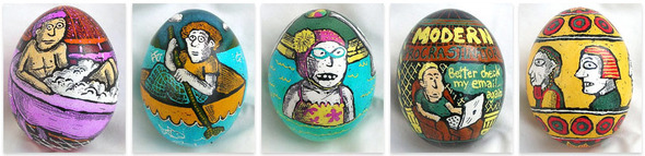 Brian Walker looks at Roz Chast's Easter Eggs