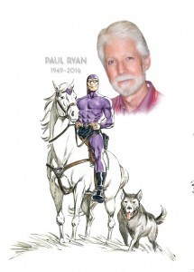 The Phantom and the late great artist Paul Ryan