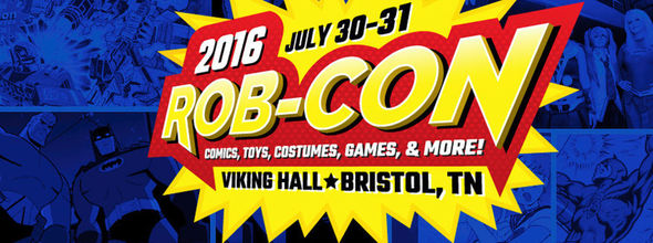 Rob-Con, a comic convention, takes place in Tennessee