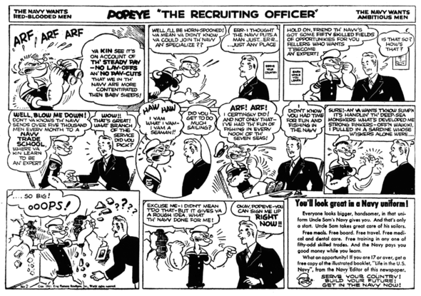 Popeye the Recruiting Officer 1
