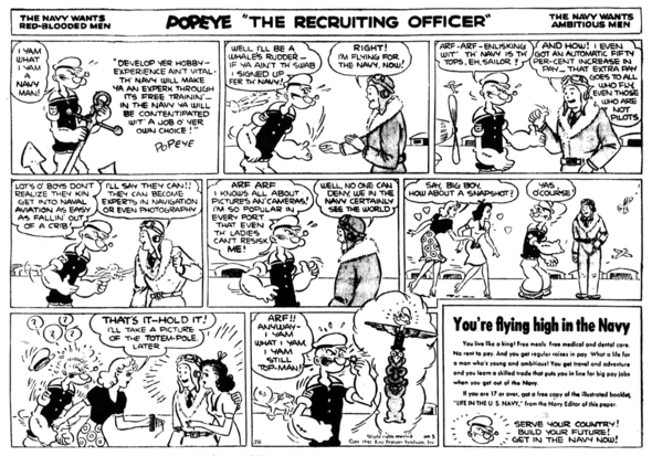 Popeye the Recruiting Officer 3