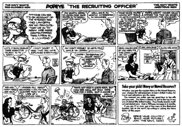 Popeye the Recruiting Officer 5