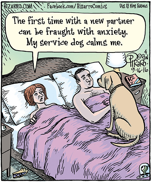 Dan Piraro is the cartoonist of