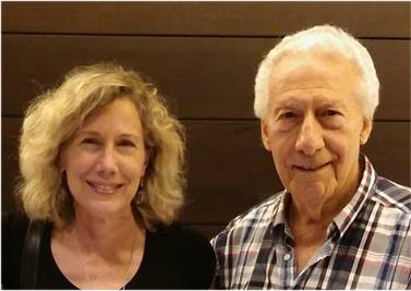 June Brigman and Joe Giella met in Baltimore recently!