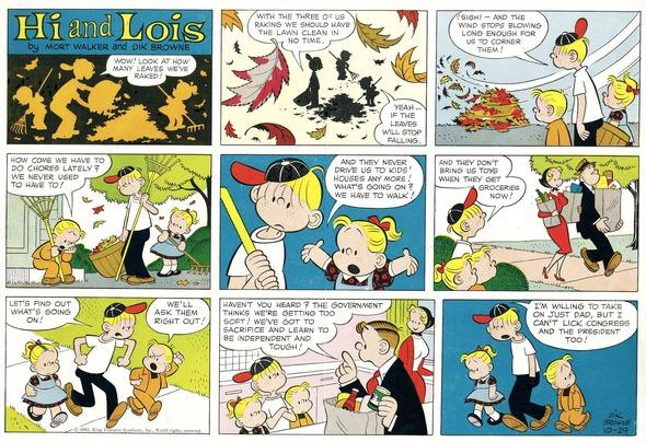 A 1961 Hi and Lois Sunday