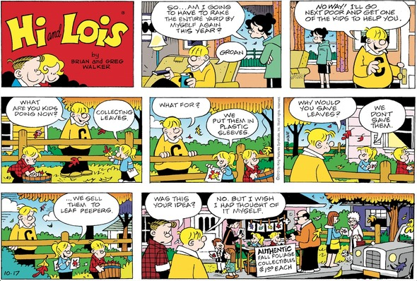 Hi and Lois Sunday page October 17, 2010