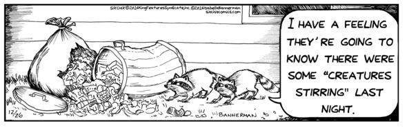 SIX CHIX cartoonist Isabella Bannerman's creatures ARE stirring