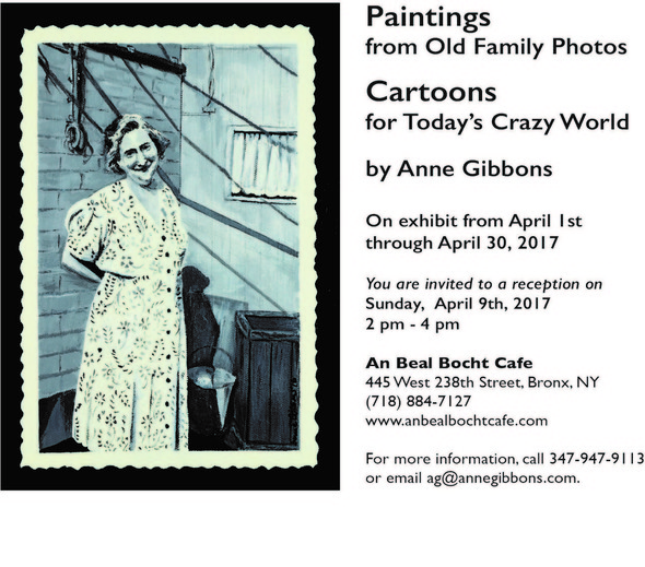 Anne Gibbons Exhibition Reception