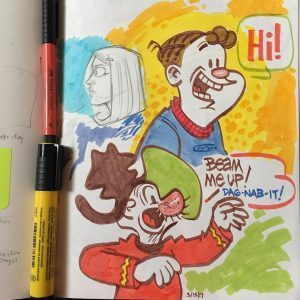 From INTELLIGENT LIFE cartoonist David Reddick's sketchbook